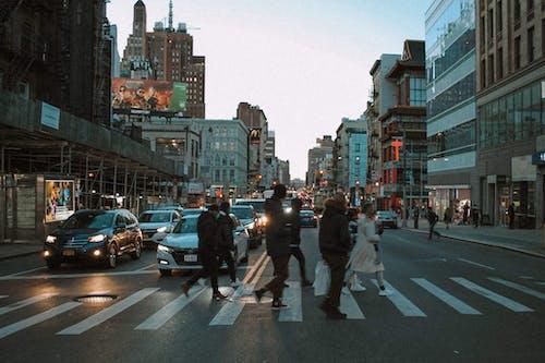 Photos gratuites de arrondissement, asphalte, auto
