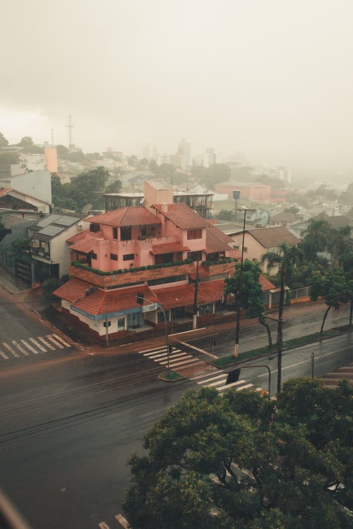 Free stock photo of after rain, apartment building, architecture