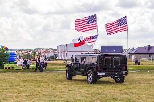 Photos gratuites de clairière, drapeaux, états-unis, h1