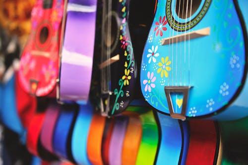 Ảnh lưu trữ miễn phí về Âm nhạc, cận cảnh, chơi, dây đàn ghi-ta
