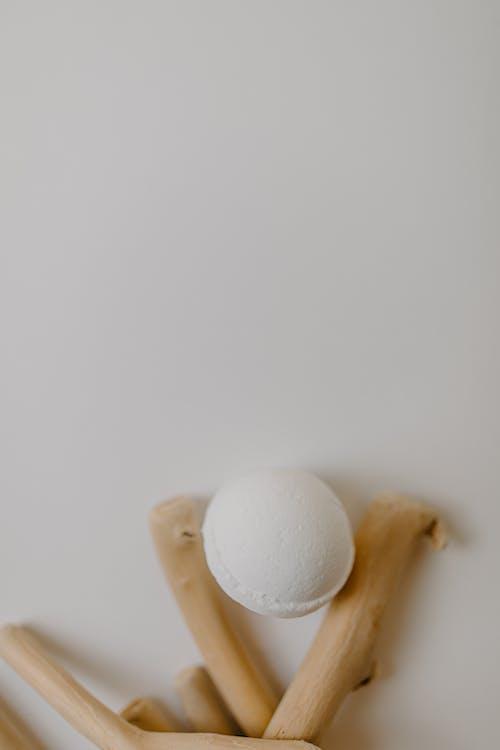 Close Up Shot of a Bath Bomb