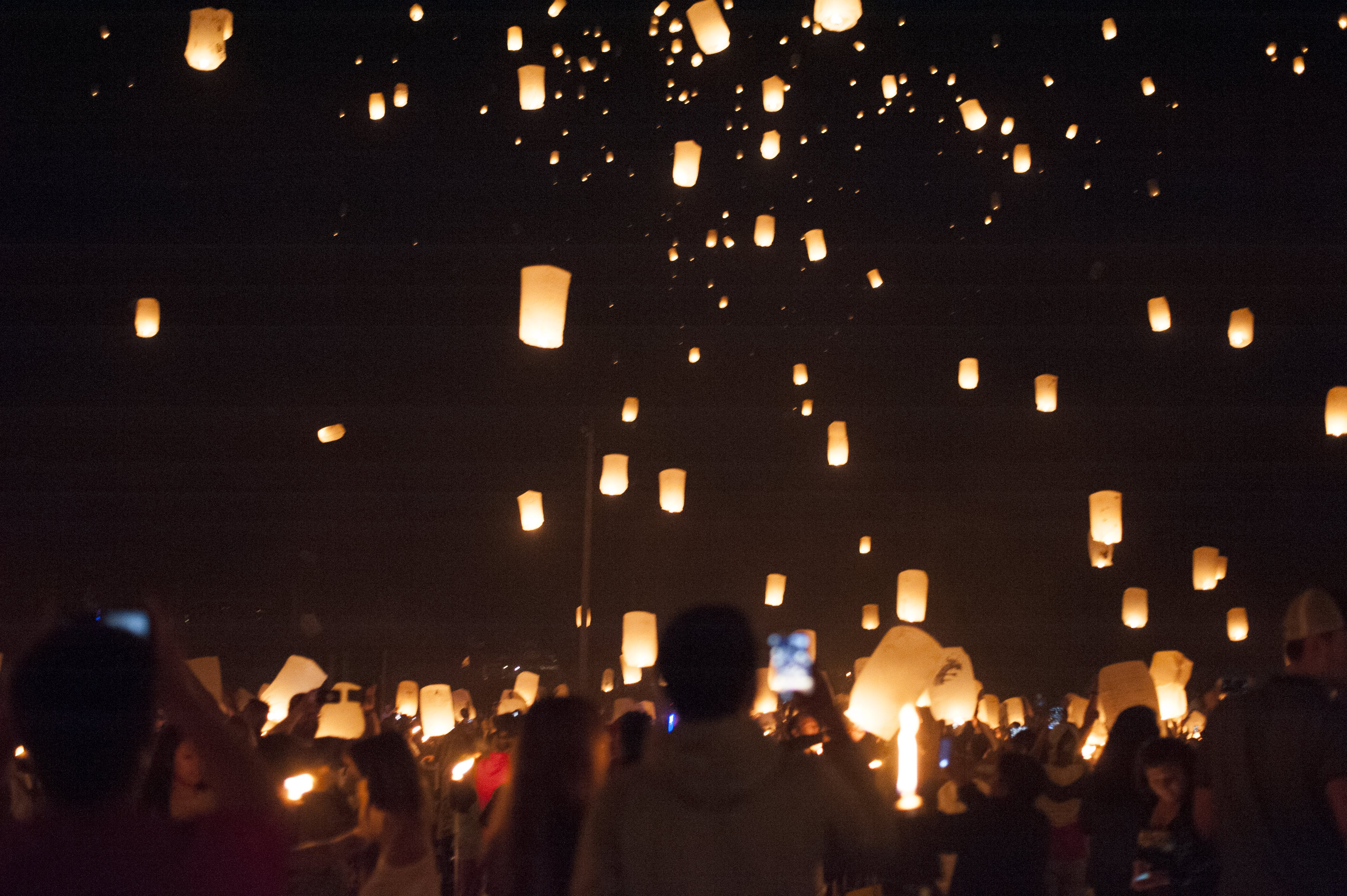 Free stock photo of candlelight, festival, latern, latern festival