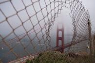 landmark, fog, haze