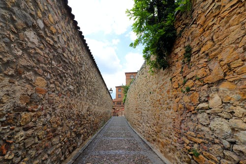 Free stock photo of brick wall, old town, spain
