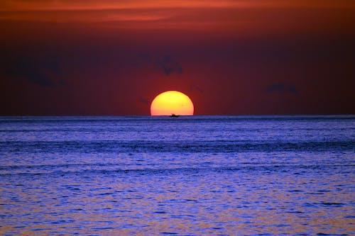 deniz, gün batımı, kosta rika, Pasifik içeren Ücretsiz stok fotoğraf