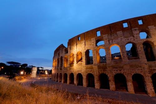 Coliseum, eski bina, İtalya, Kent içeren Ücretsiz stok fotoğraf