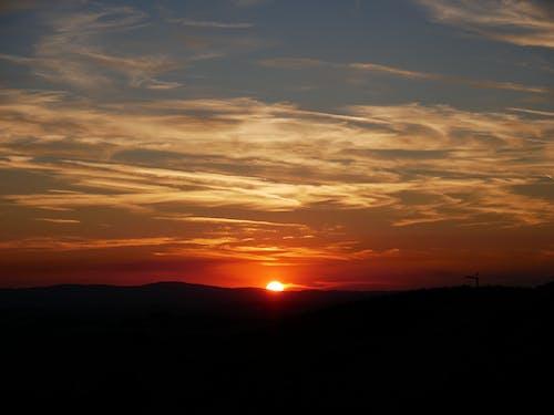 Foto d'estoc gratuïta de alba, capvespre, cel, groc