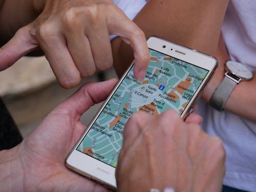 华为p9 lite, 地圖, 家人, 導航 的 免费素材照片