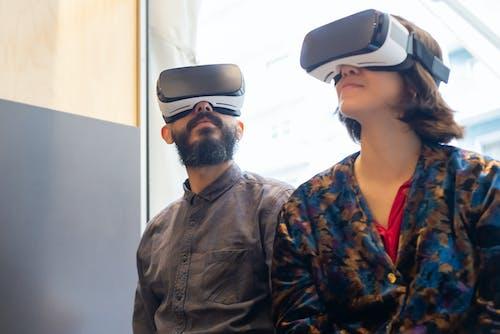 Fotos de stock gratuitas de desgaste, gafas de realidad virtual, gafas vr