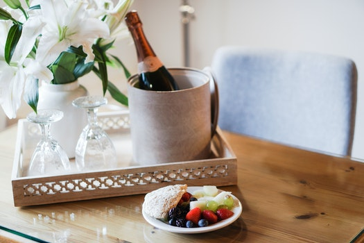 Free stock photo of hotel, breakfast, champagne