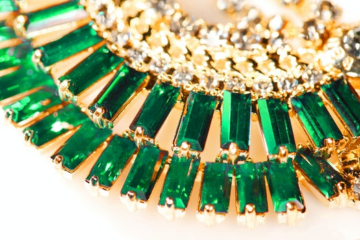 Free stock photo of fashion, green, craft, gold