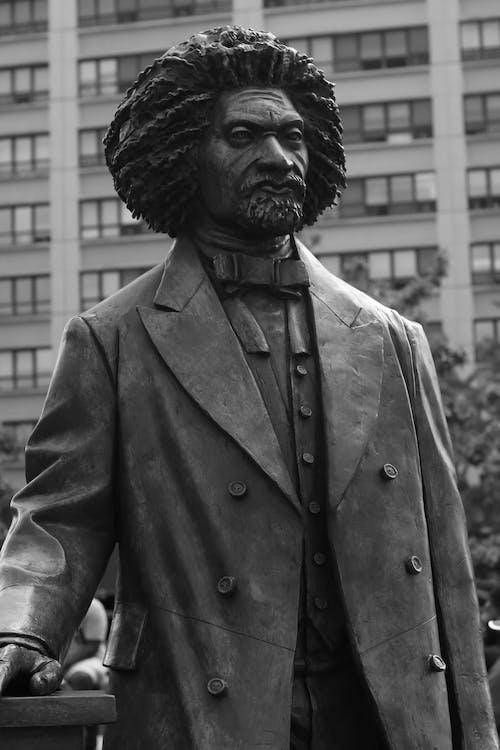 Frederick Douglass' Sculpture