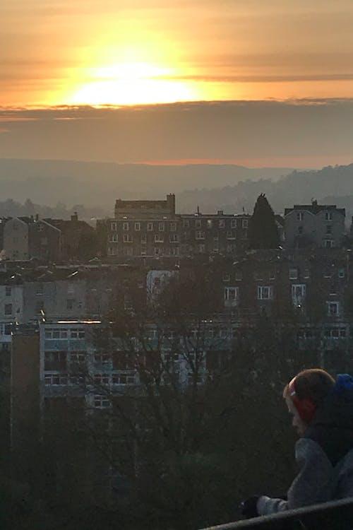 Бесплатное стоковое фото с город, городская жизнь, городской закат