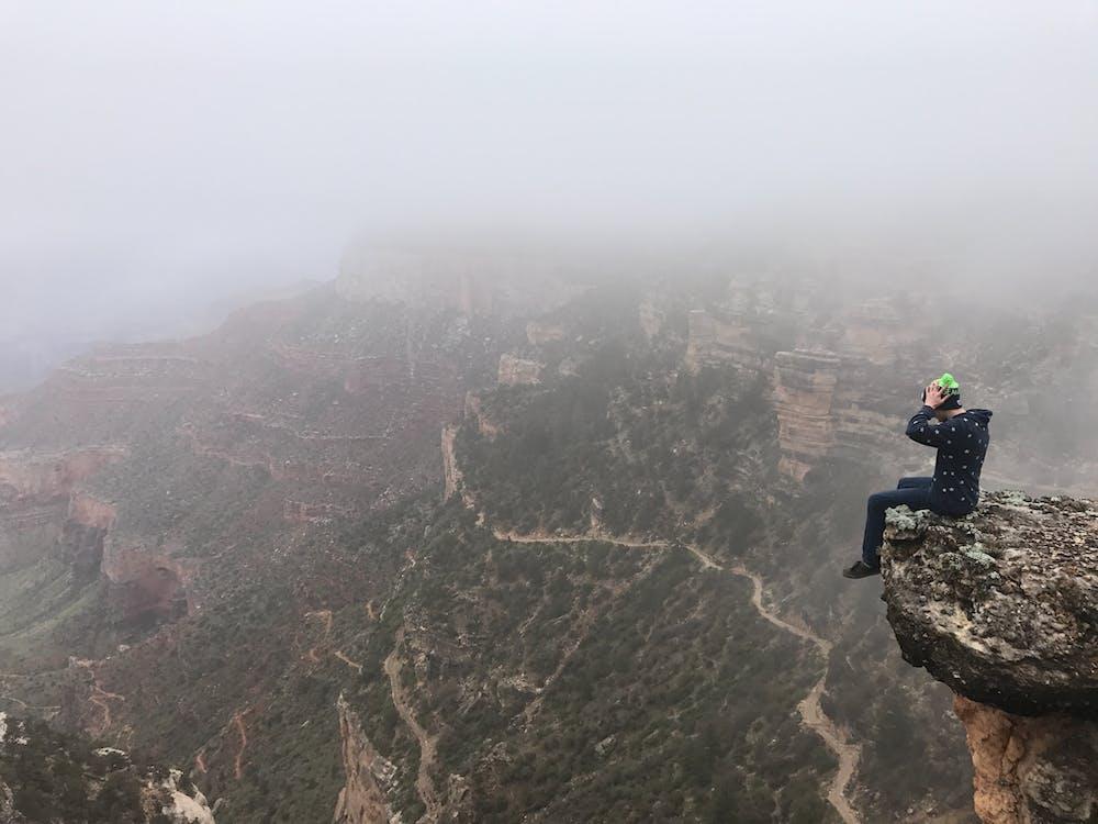 人, 冒險, 坐