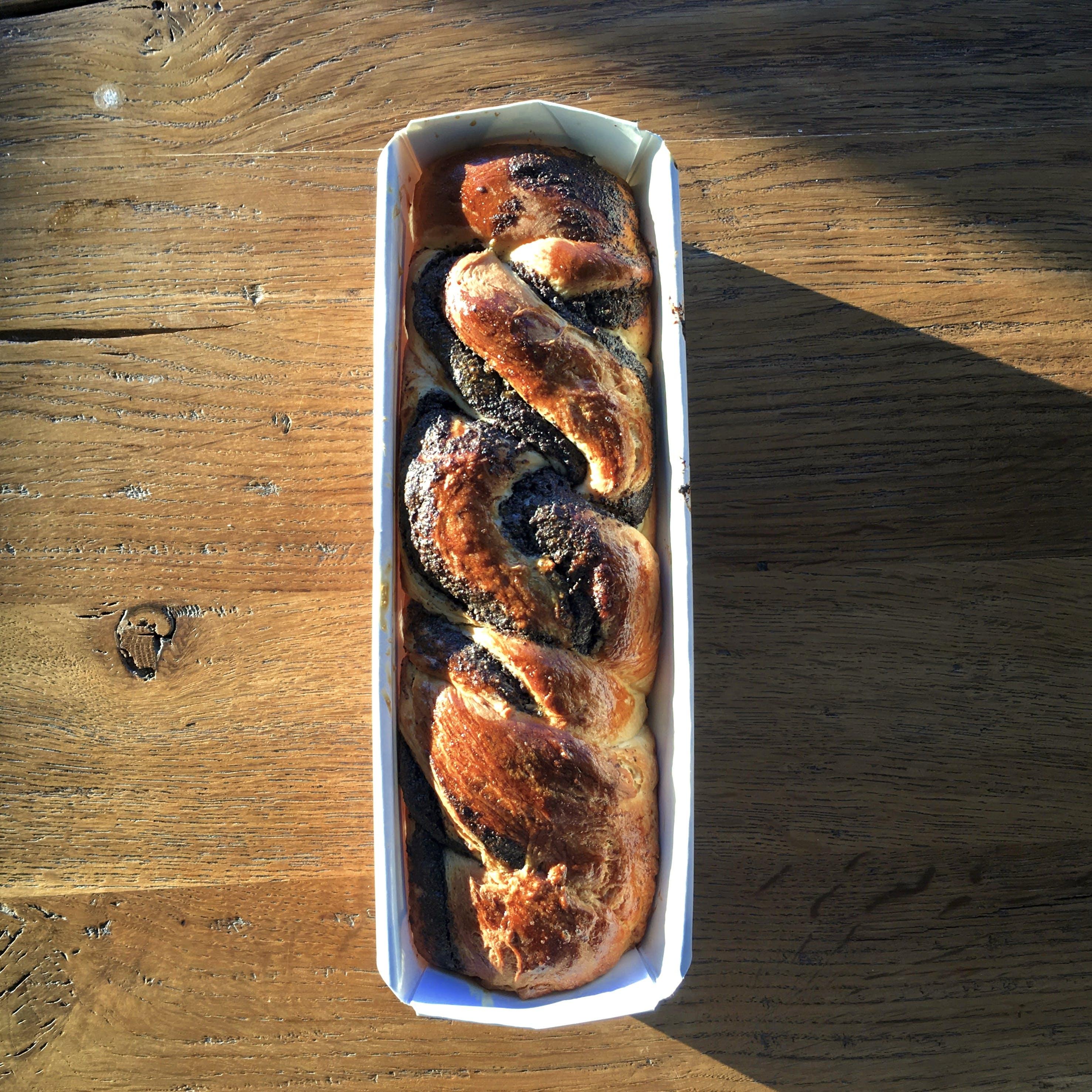Bread on White Ceramic Bowl