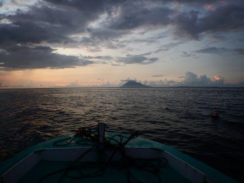 Free stock photo of sea, twilight