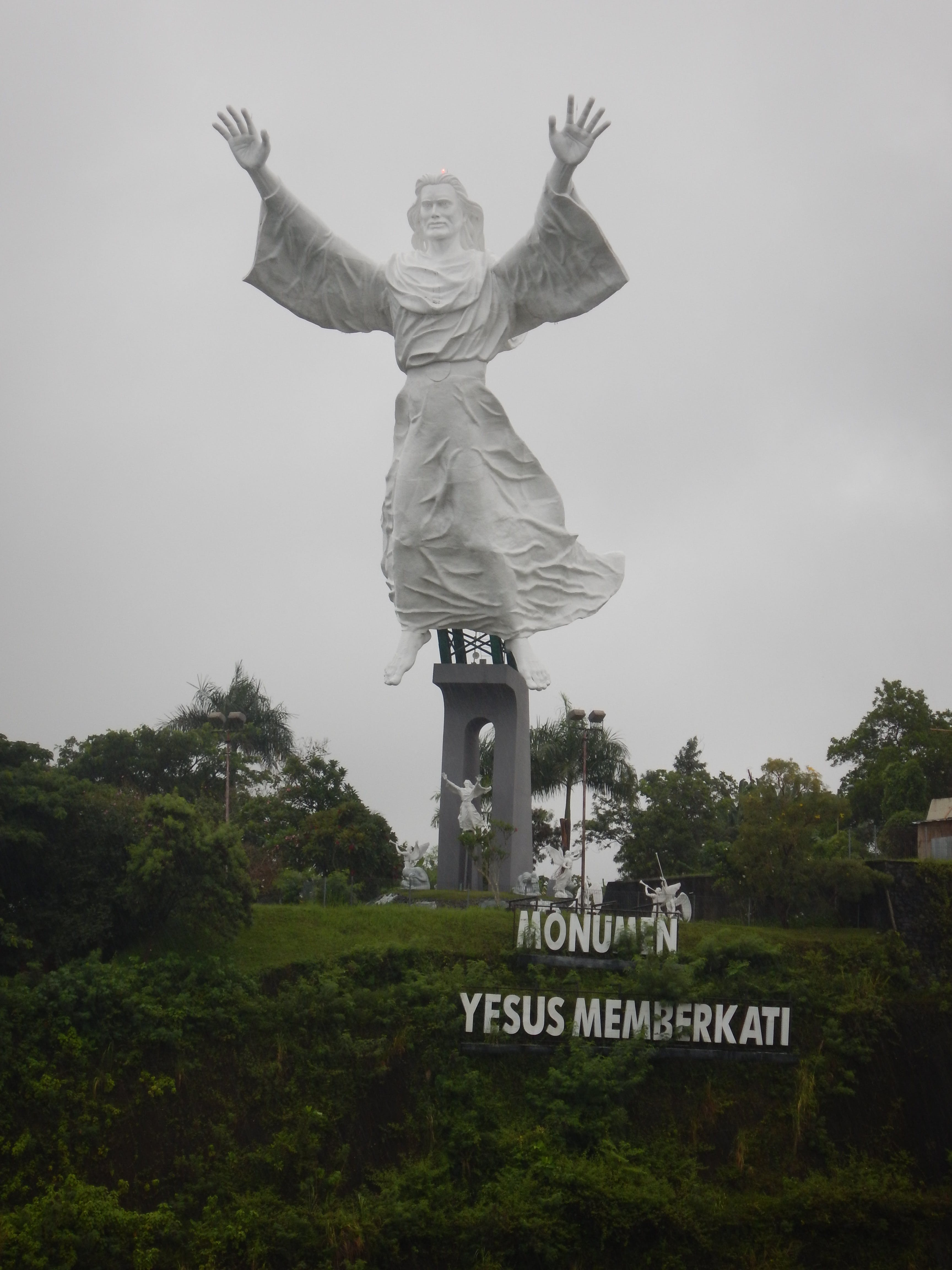 Free stock photo of christ blessing, jesus, jesus blesses, manado indonesia
