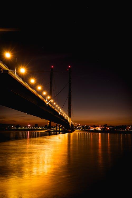 Ingyenes stockfotó belváros, éjszaka, építészet, este témában
