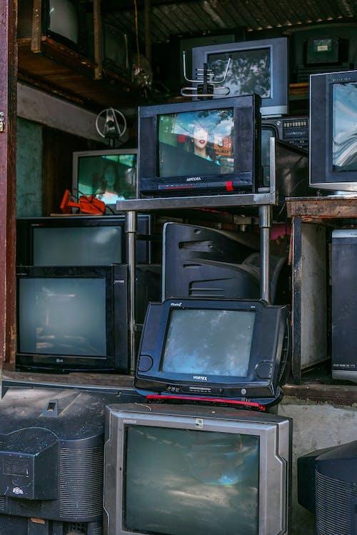 Foto stok gratis analog, antena, bekas