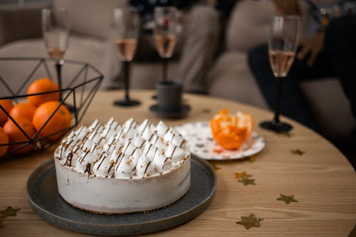 オレンジ, ケーキ, デザートの無料の写真素材