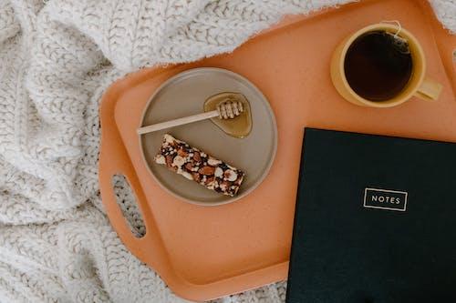 Δωρεάν στοκ φωτογραφιών με flatlay, ατζέντα, ζεστό τσάι