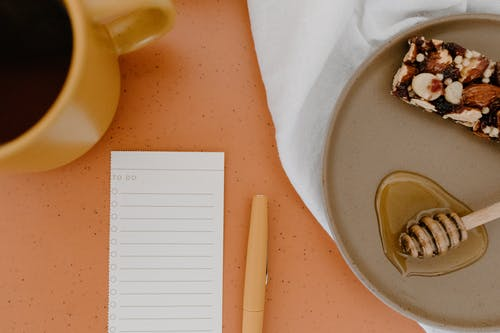 Foto stok gratis buku notes, catatan, flatlay