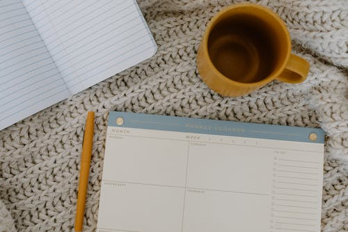 Free stock photo of arts and crafts, blank notebook, blank page