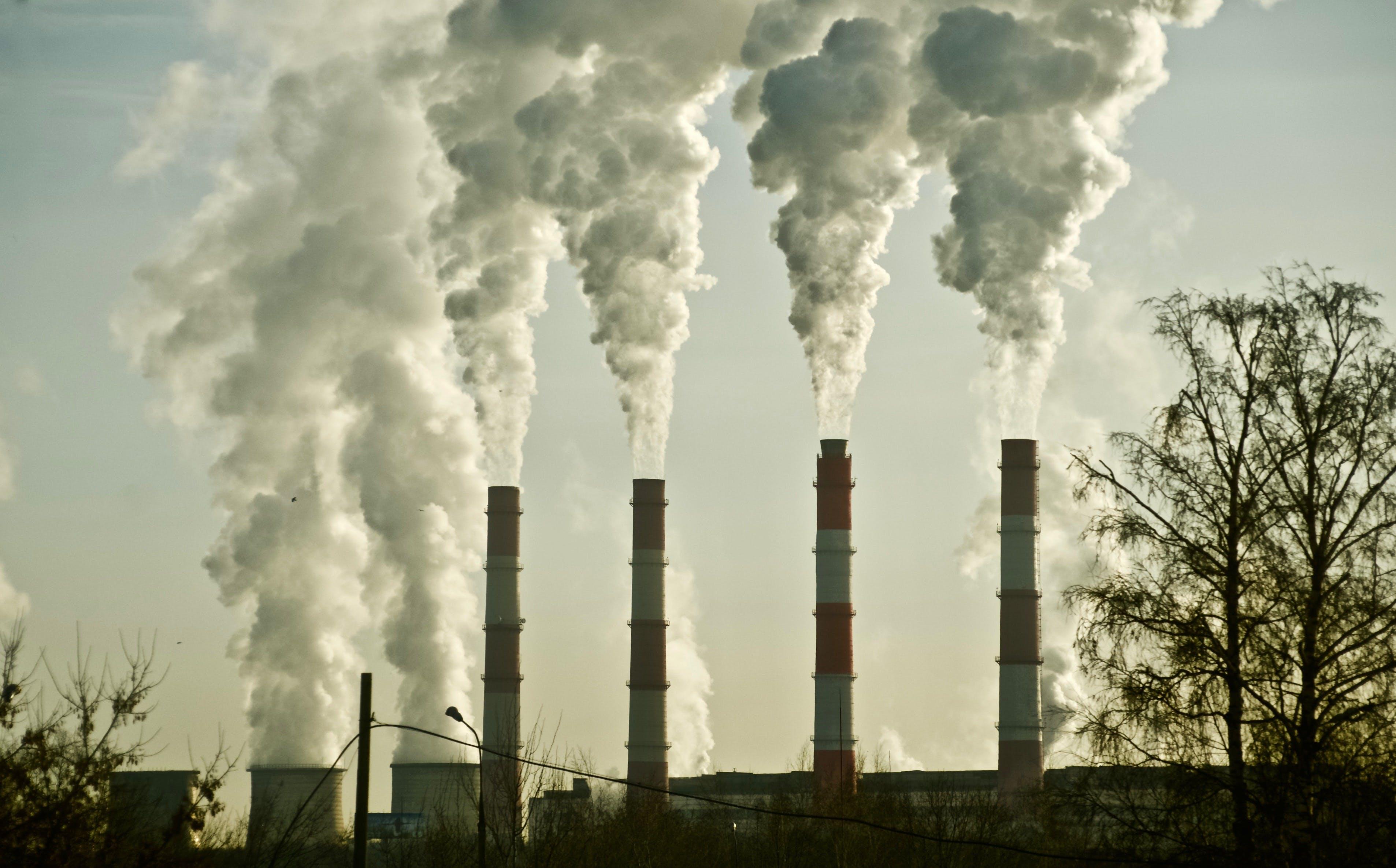 Free stock photo of chimney, chimneys, environment, environmental damage