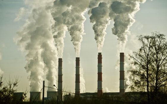 Free stock photo of industry, chimneys, smoke, environment