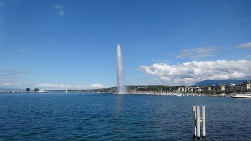 Free stock photo of geneva, leman lake