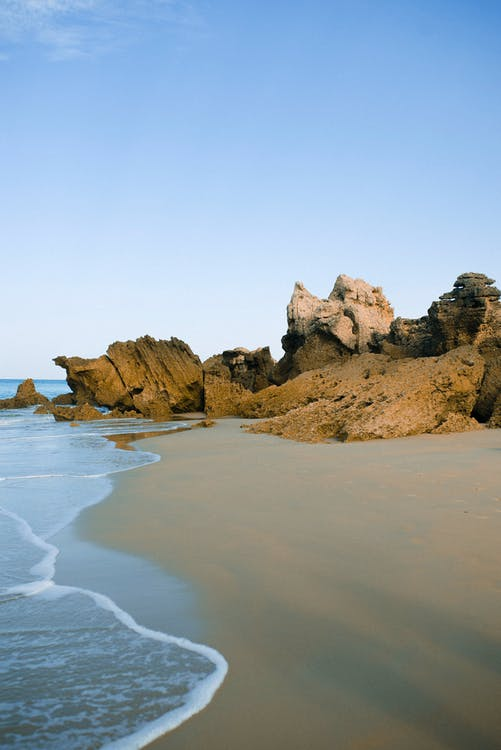 Free stock photo of beach, calm, colors