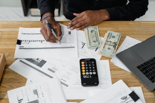 คลังภาพถ่ายฟรี ของ กระดาษ, การชำระเงิน, การธนาคาร