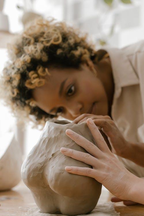 Kostenloses Stock Foto zu afro-haar, anstellung, arbeit