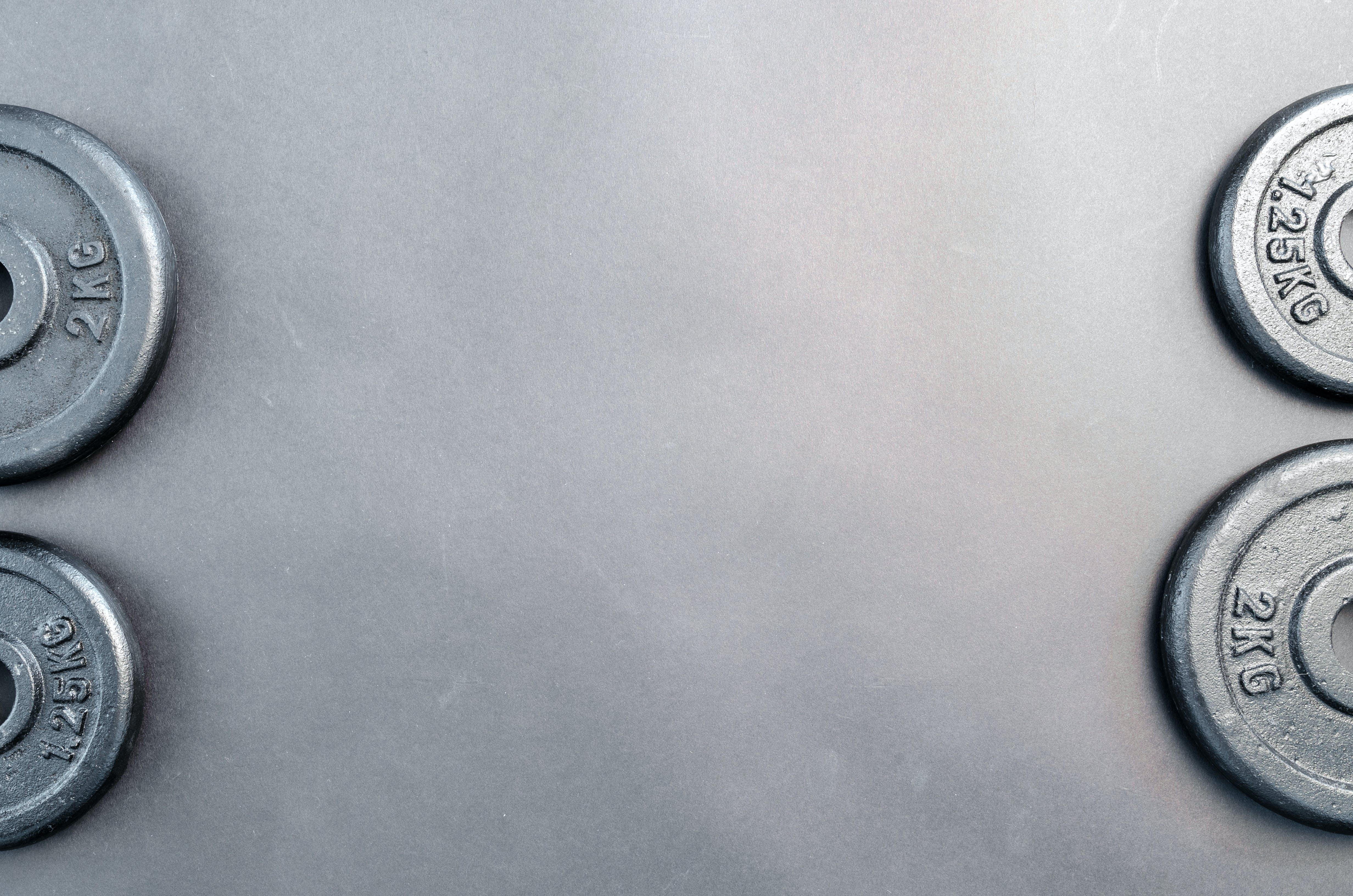 Gray Barbel Plates