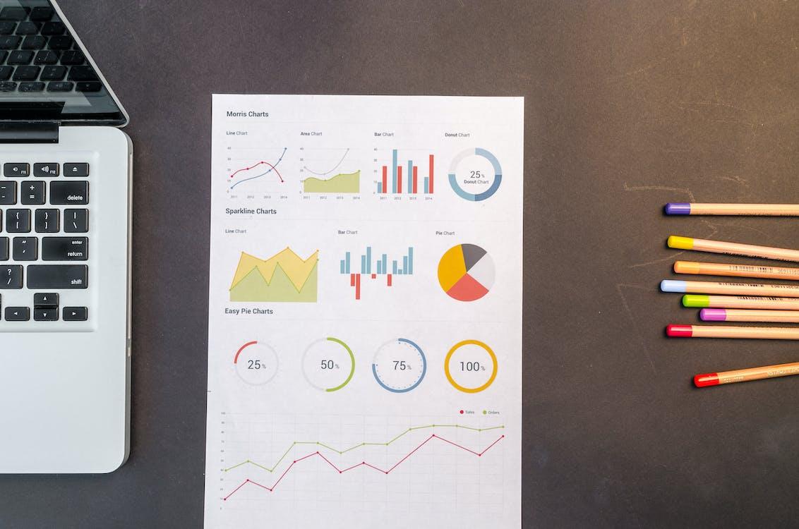asiakirja, faktat, kaaviot