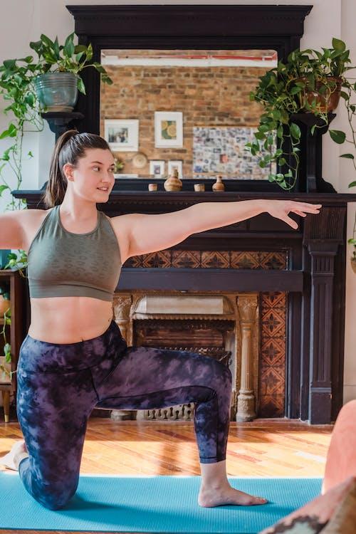 Δωρεάν στοκ φωτογραφιών με αρχική προπόνηση, άσκηση, άσκηση στο σπίτι