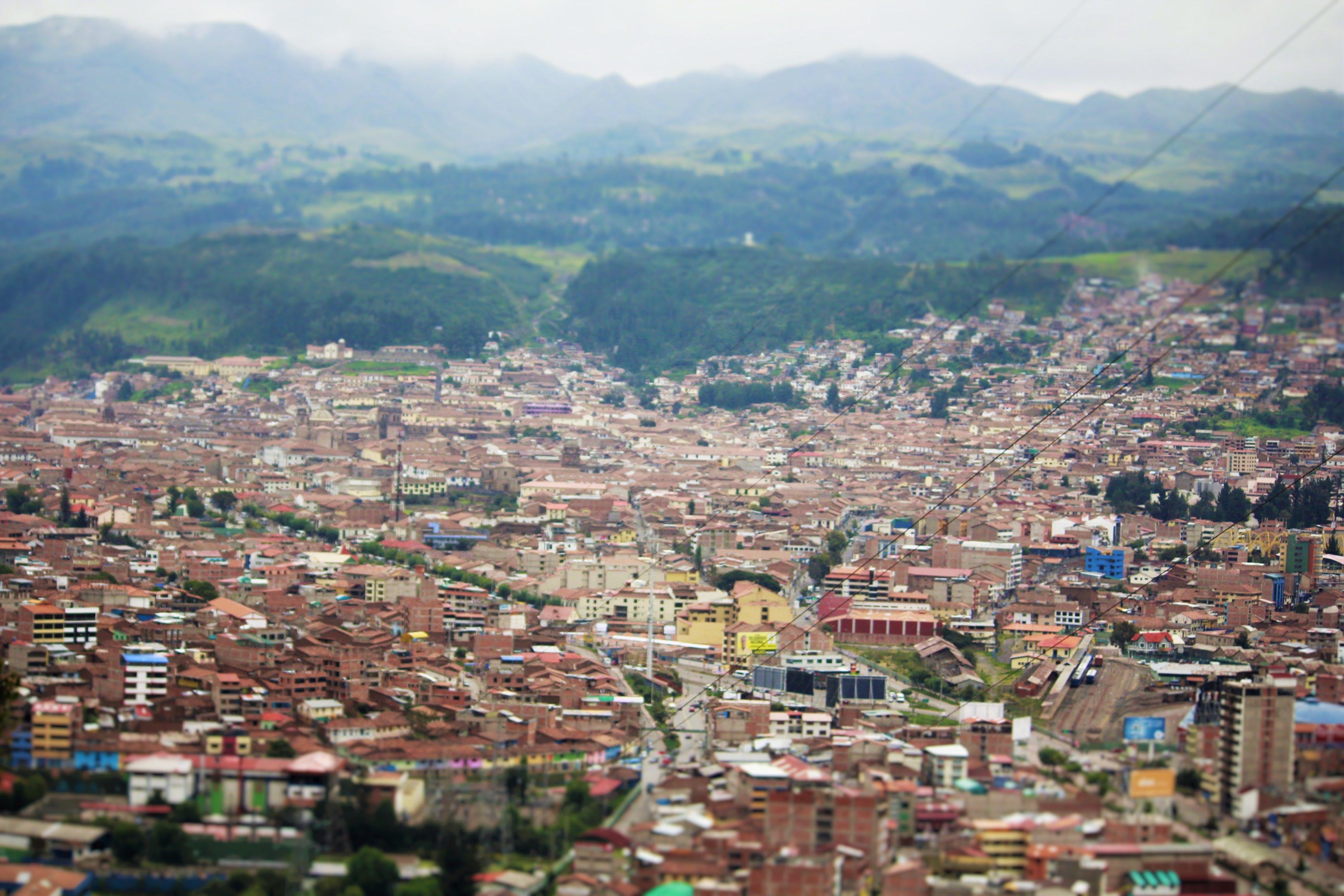 Free stock photo of aeroplane, city, city park, cusco