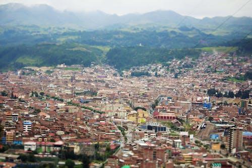 Kostenloses Stock Foto zu cusco, flugzeug, himmel, stadt