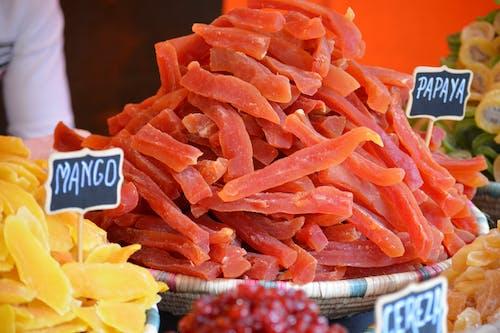 Free stock photo of dried fruit, dried fruits, mango, papaya