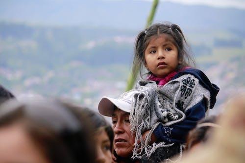 Free stock photo of boy, daughter, girl, mountains