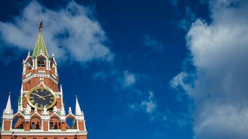 Ingyenes stockfotó a spasskaya-torony, ég, felhők, kreml témában