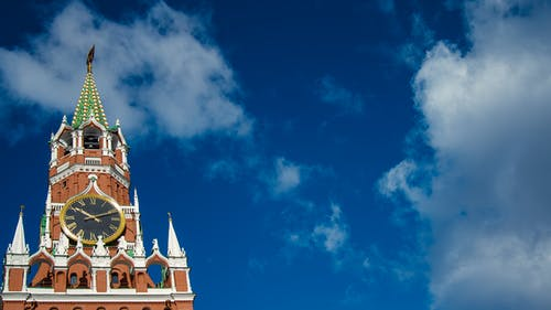 Photos gratuites de ciel, kremlin, la tour spasskaïa, moscou