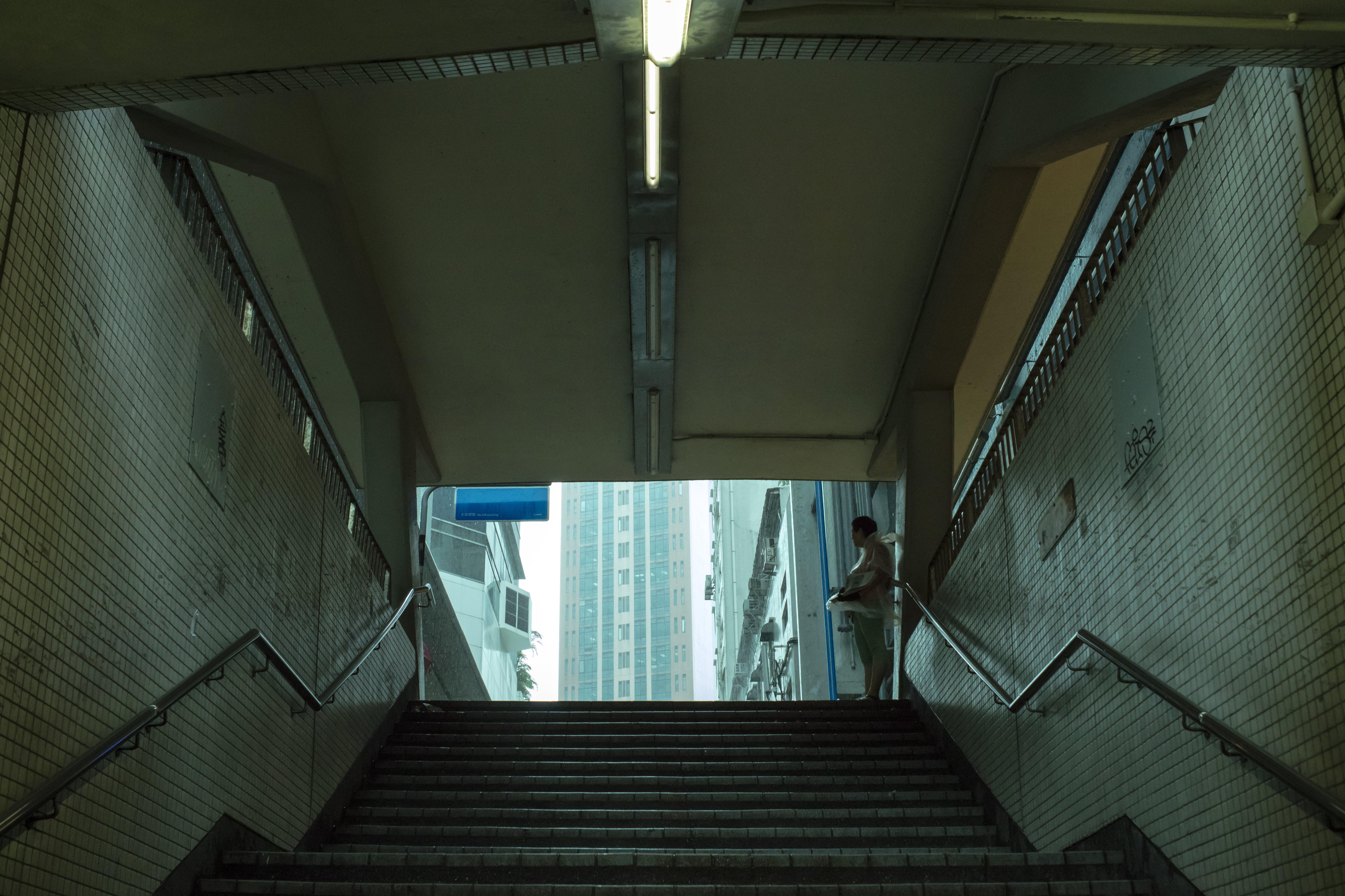 Free stock photo of building, hongkong, light, people