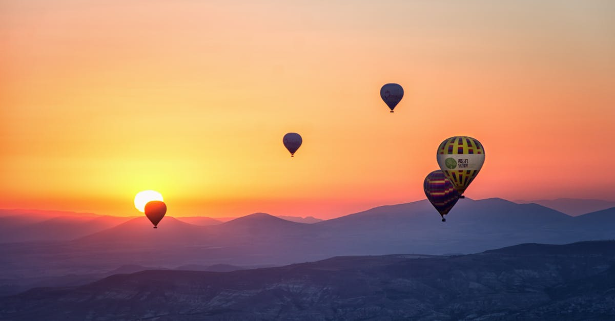 pictures Flying A Hot-Air Balloon