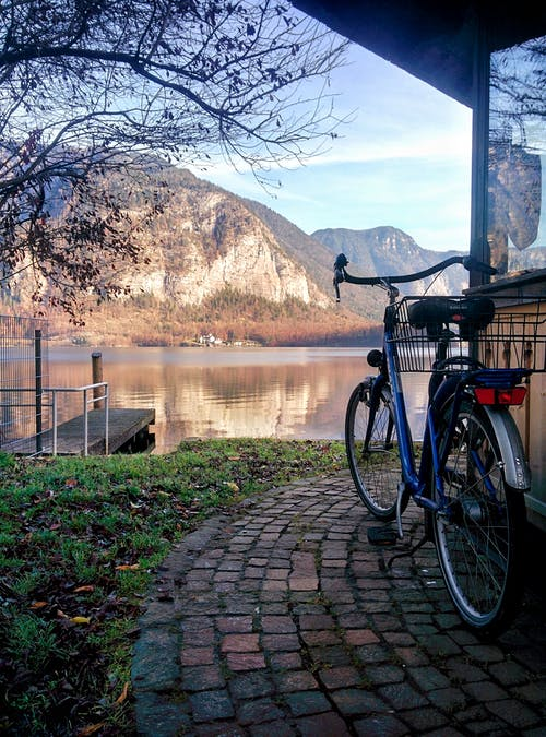 Free stock photo of austria, bicycle, body of water