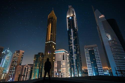 Ảnh lưu trữ miễn phí về ánh sáng, bầu trời, các Tiểu Vương Quốc Ả Rập Thống Nhất, các tòa nhà