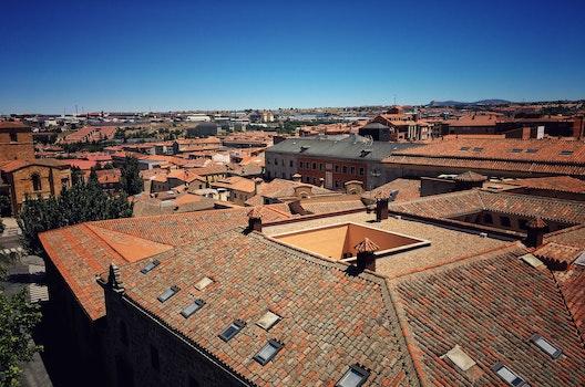 Free stock photo of summer, roof, europe, avila