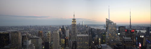 Free stock photo of #EmpireState, #fromtopoftherock, #newyork, #panorama