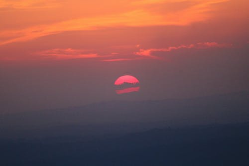 Foto d'estoc gratuïta de bonic, capvespre, cel, cel al capvespre