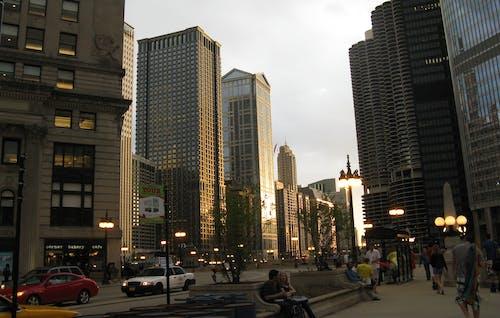 Gratis stockfoto met cicago, gebouwen, huizen, lantaarnpaal